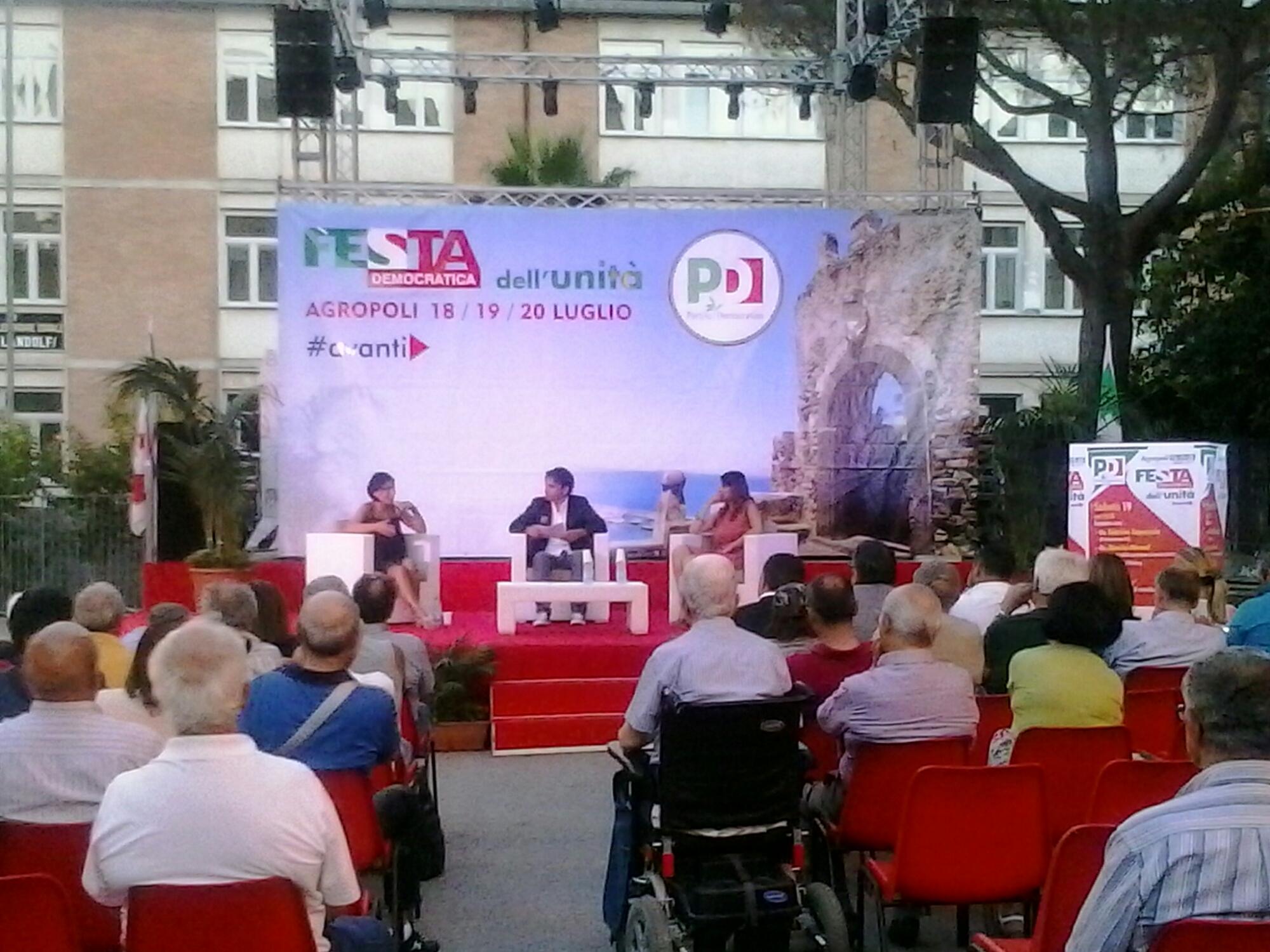 Agropoli festa pd secondo giorno cilento channel for Onorevoli pd