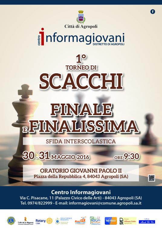 Calendario Tornei Scacchi.Agropoli Il Calendario Di Gioco Del Primo Torneo Di Scacchi