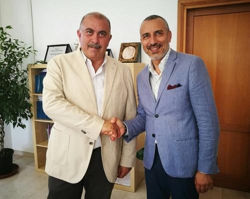 Il sindaco con il neo assessore