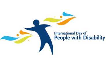Logo giornata mondiale disabilità.