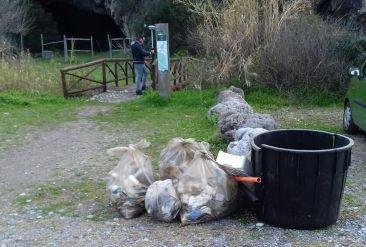 pulizia grotta