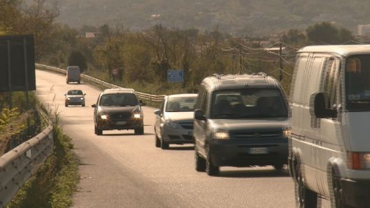 AGROPOLI INCIDENTE CILENTANA