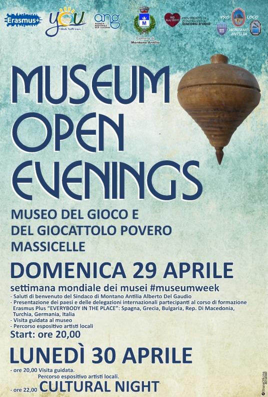 locandina museum open evenings