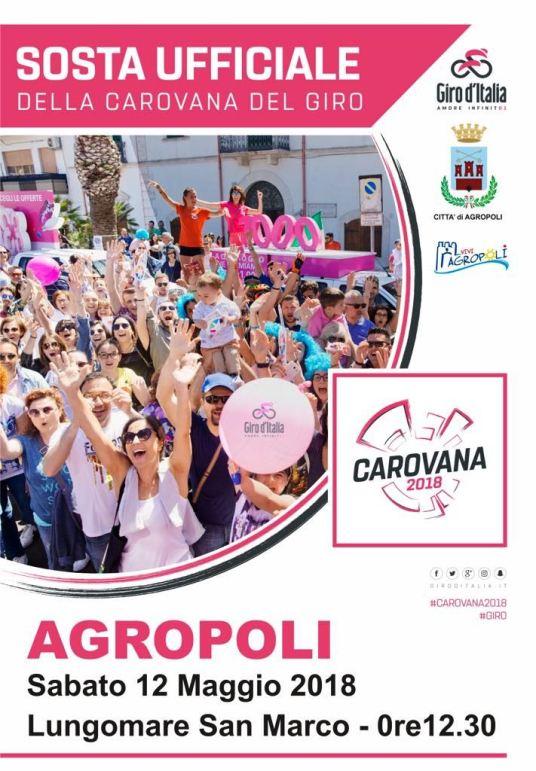 locandina Giro d'Italia 2018