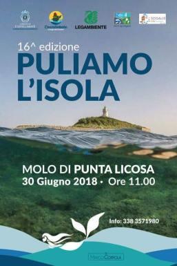 Puliamo l'isola Licosa_locandina