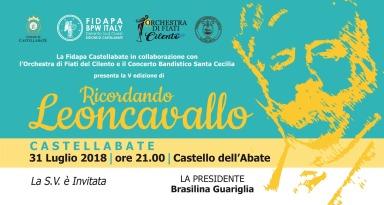 Invito_Ricordando Leoncavallo_Castellabate_2018