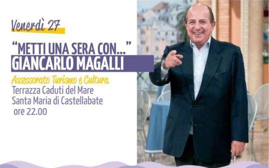 Metti una sera con Giancarlo Magalli_Castellabate_2018