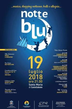 Notte Blu 2018 locandina
