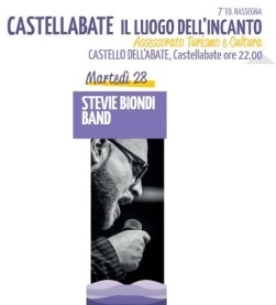 STEVIE BIONDI CASTELLABATE LUOGO INCANTO 28 AGOSTO