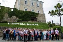Delegazione Blieskastel al Castello dell'Abate