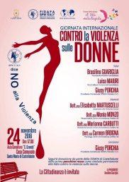 Giornata internazionale contro la violenza sulle donne_Castellabate_locandina
