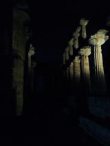 Paestum al buio
