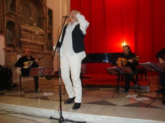 Tenore Quirino orchestra Mandolinistica