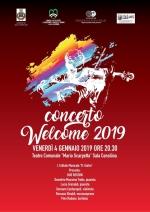 LOCANDINA CONCERTO WELCOME 2019