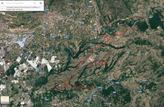 Distanza Ecoballe - Oasi WWF.JPG